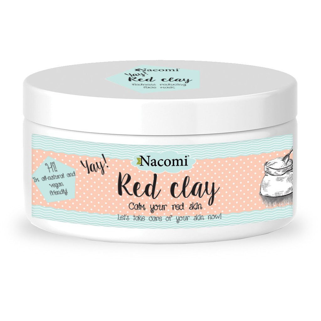 RED CLAY - VEGAN & NATURAL 100g - Beautyboutique.no