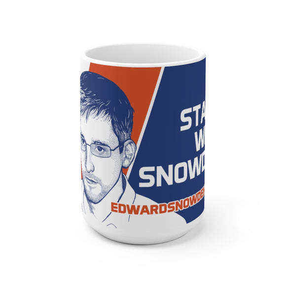 Stand with Snowden - Mug