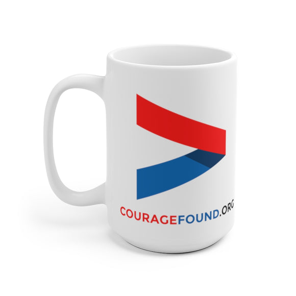 Courage Chevron - Mug