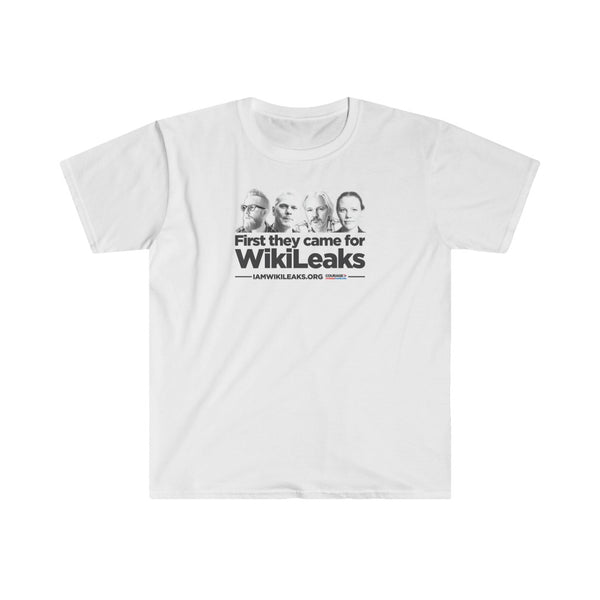 First They Came for Wikileaks - Men's Tee