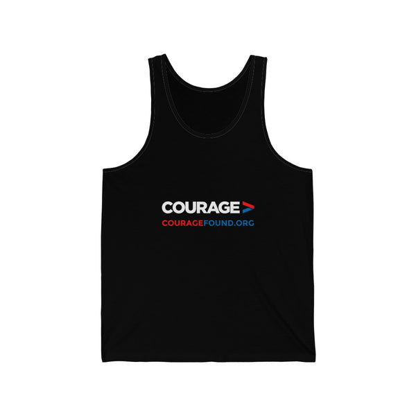 Courage Org - Unisex Jersey Tank