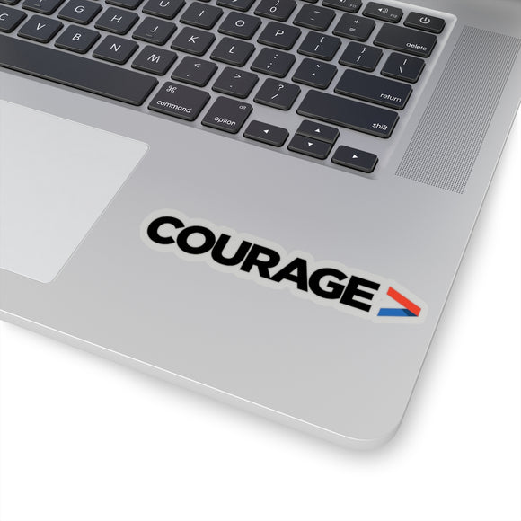 Courage - Sticker
