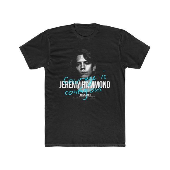 Jeremy Hammond - Courage is Contagious - Men's Tee