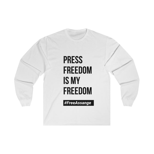 Press Freedom Is My Freedom - Unisex Long Sleeve Tee