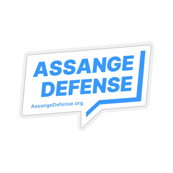 Laptop Stickers - Assange Defense