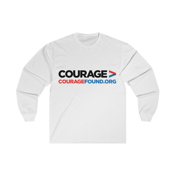 Courage Found Org - Unisex Long Sleeve Tee