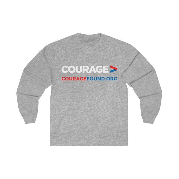 Courage Foundation - Unisex Long Sleeve Tee