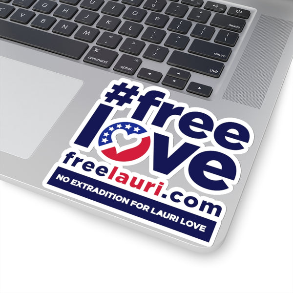 Lauri Love - #FreeLove - Sticker