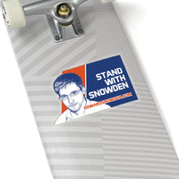 Stand with Snowden - Sticker