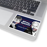 Free Speech - Except War Crimes - Sticker