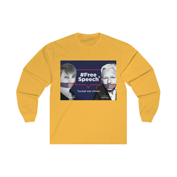 Free Speech - Unisex Long Sleeve Tee