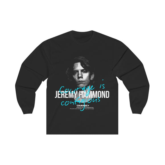 Jeremy Hammond - Courage is Contagious - Unisex Long Sleeve Tee