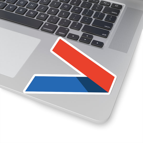 Courage Found Chevron - Sticker