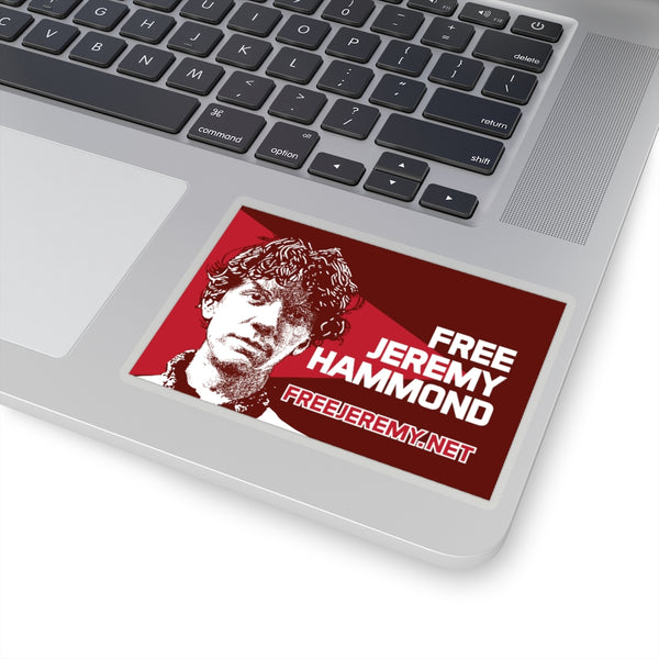 Free Jeremy Hammond - Sticker