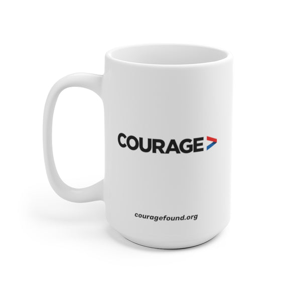 Courage Foundation - White Mug