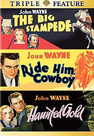 BIG STAMPEDE/RIDE HIM COWBOY/HAUNTED