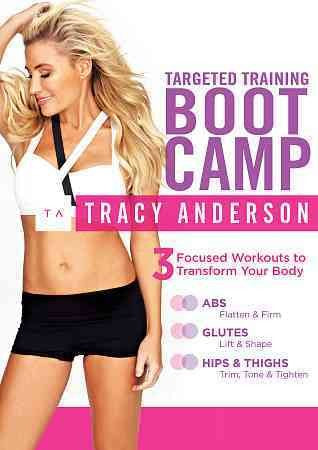 TRACY ANDERSON:TARGETED TRAINING BOOT