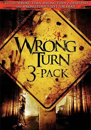 WRONG TURN 3 PACK