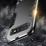 Shockproof Kickstand Armor Defender Shockproof Hard Case For Samsung Galaxy S10 / S10 Plus / S10e / Note 9 / S9 / S9 Plus / Note