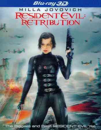 RESIDENT EVIL:RETRIBUTION 3D