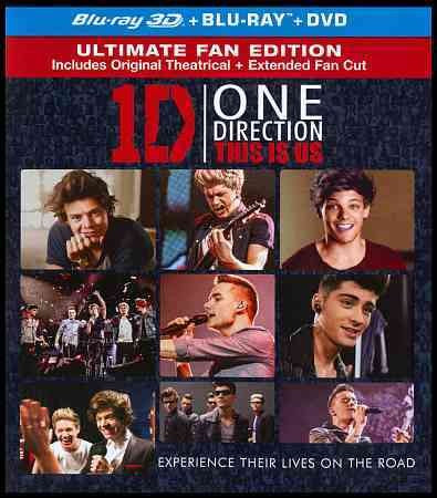 ONE DIRECTION:THIS IS US 3D COMBO