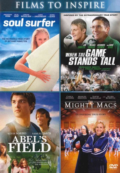 ABEL'S FIELD/MIGHT MACS/SOUL SURFER/W