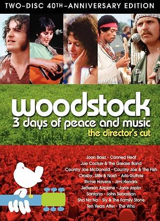 WOODSTOCK 3 DAYS DC 40TH ANN SE