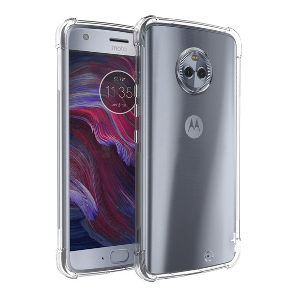 Motorola Moto X4 (2017) Case,Soft Flexible Gel TPU Silicone Transparent Shockproof Case For Moto X4 Cover Protection Shell Capa