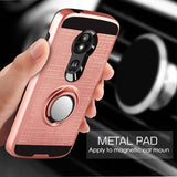 Moto E5 Cruise Case , 360 Degree Rotating Ring Holder Kickstand Scratch Resistant Drop Protective Case for Motorola Moto E4 / E4