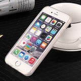 New Magical Black/Transparent Anti-gravity Nano Adsorb Phone Case for IPhone Samsung