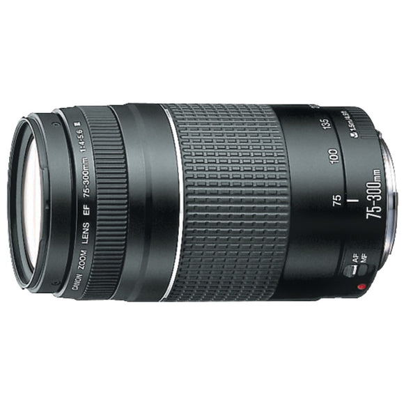 Canon(R) 6473A003 EF 75mm-300mm Telephoto Zoom Lens
