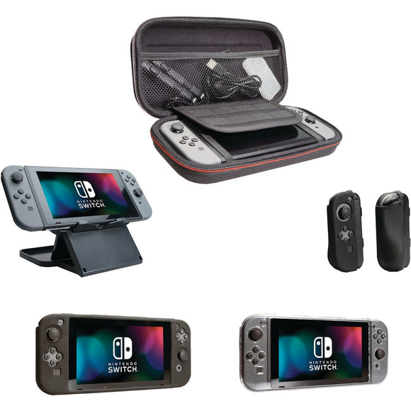 CTA Digital SWI-TEB Travel Essentials Bundle for Nintendo Switch(TM)