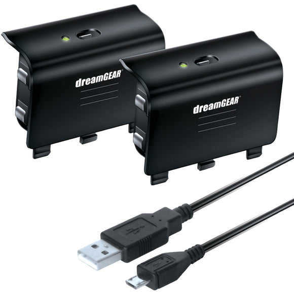 dreamGEAR(R) DGXB1-6608 Xbox One(R) Charge Kit