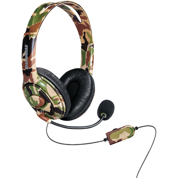 dreamGEAR(R) DGXB1-6618 Xbox One(R) Wired Headset with Microphone (Camo)