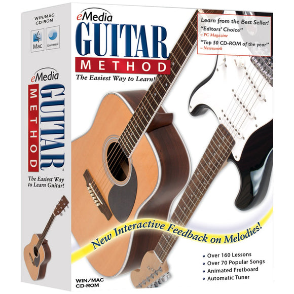 eMedia Music EG10091 Guitar Method v5