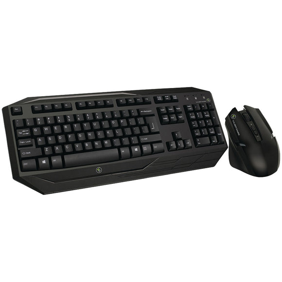 IOGEAR(R) GKM602R Kaliber Gaming(R) Wireless Gaming Keyboard & Mouse Combo