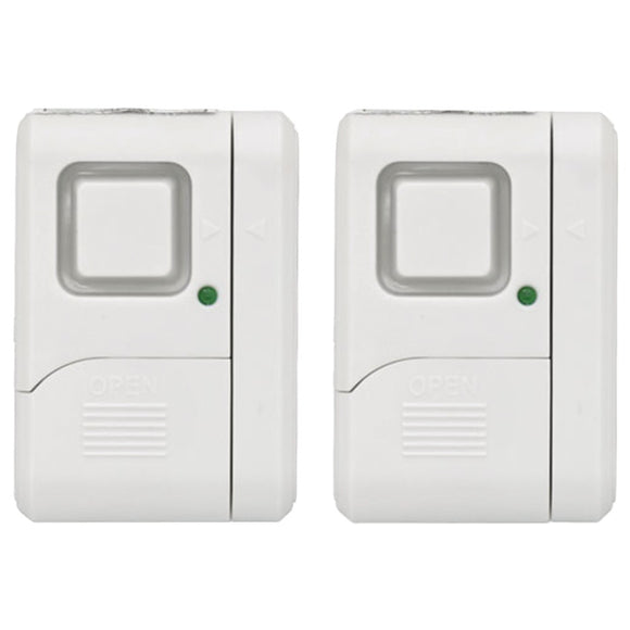 GE(R) 45115 Wireless Window Alarms, 2 pk