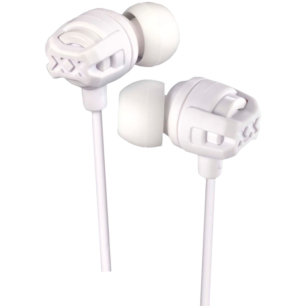 JVC(R) HAFX103MW XX Series Xtreme Xplosives Earbuds with Microphone (White)