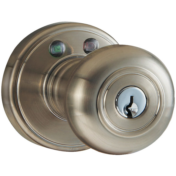 Morning Industry Inc. RKK-01SN Remote Control Electronic Entry Knob (Satin Nickel Finish)