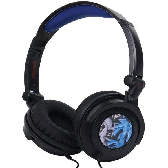 Maxell(R) 190265 - AMPB AMPlified Heavy Bass Headphones (Blue Tribal)