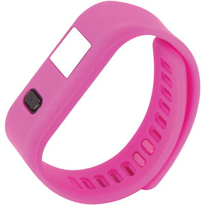 Naxa(R) NSW-13 PINK LifeForce+ Fitness Watch for iPhone(R) & Android(TM) (Pink)