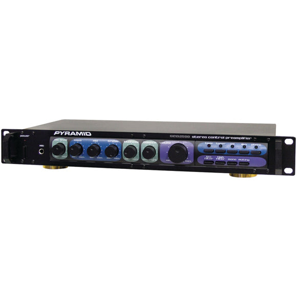 Pyramid(R) Car Audio PR2500 Professional Home Studio Preamp
