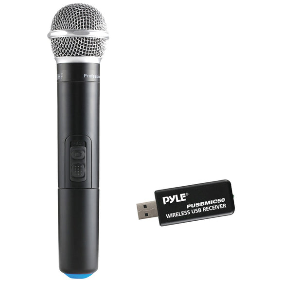 Pyle(R) PUSBMIC50 Wireless Microphone & USB Receiver