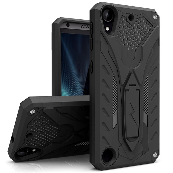HTC Desire 530 Case, Zizo [Static Series] Shockproof [Military Grade Drop Tested] w/ Kickstand [HTC Desire 530 Heavy Duty Case]
