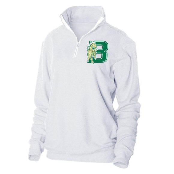 Official NCAA Bronx Community College Herrington Fleece 1/4 Zip Up Sweatshirt
