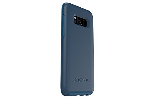 OtterBox SYMMETRY SERIES for Samsung Galaxy S8 - Retail Packaging - BESPOKE WAY (BLAZER BLUE/STORMY SEAS BLUE)