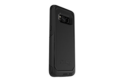 OtterBox COMMUTER SERIES for Samsung Galaxy S8 - Retail Packaging - BLACK