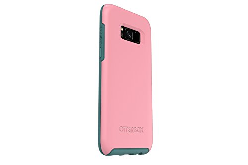 Otter Box SYMMETRY SERIES for Samsung Galaxy S8 ONLY - Retail Packaging - PRICKLY PEAR (ROSMARINE/MOUNTAIN RANGE GREEN)