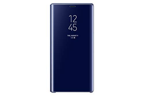Samsung Official Galaxy Note 9 Case, S-View Flip Cover with Kickstand (Blue)