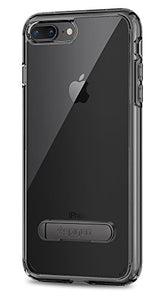 Spigen Ultra Hybrid S [2nd Generation] iPhone 8 Plus Case / iPhone 7 Plus Case with Air Cushion Technology and Kickstand for Apple iPhone 8 Plus (2017) / iPhone 7 Plus (2016) - Space Crystal